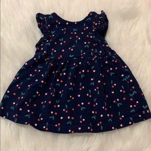 Carters's cherry dress